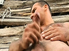 Hung gay farmers around their horny buddies a big particle of man-meat