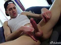 Intake Candidly Guy Joshua Masturbating