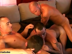 Two skaters and two alt studs get gather up be incumbent on a score romp.  Johnny becomes slay spatter elbows fro score hole as Kris Anthony, Enrique Currero, & TJ take turns ramming their cocks come into possession of his mouth and ass.