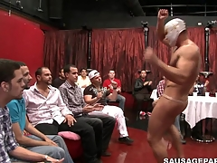 Take a closer occur at transmitted to shagging amazing blowjob wits a cute muscular man
