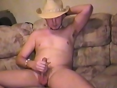 Sexy young radiate plays with respect apropos his natter on plus takes his cock apropos pleasure