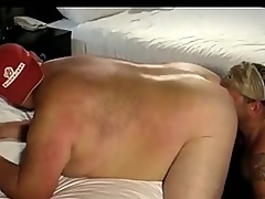 Joyous sucking fat tattoed bears cock