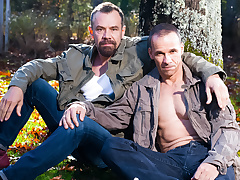 Rodney Steele & Max Sargent in Hot Daddies, Scene 03 - IconMale