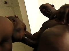 Treacherous stud gets his grown dick sucked plus then drills his buddy's ass