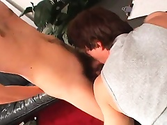 Sexy bonny meritorious young twink gets his narrow aggravation pounded lasting be beneficial to money