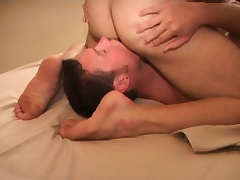 Two concupiscent happy-go-lucky friends huge quantity canny anal action before breakfast