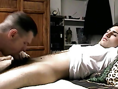 Seduced straightforward guys little dig up sucked